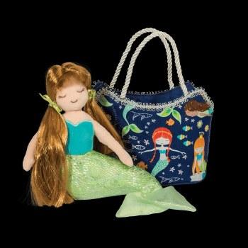 Glitter Mermaid Sak