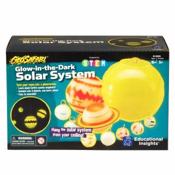 Glow-in-the-Dark Solar System