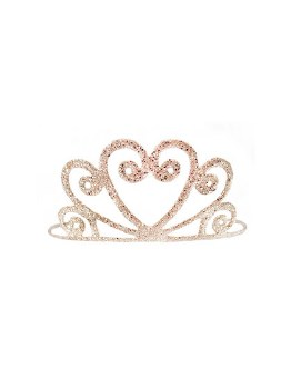 Gold Glitter Tiara for Girls - Creative Education of Canada