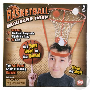 Hoop Head Game - The Toy Network
