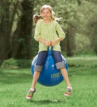 """Hop Ball 66 - 26""""Blue"""