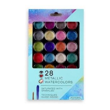 Metallic Watercolor Paints 28