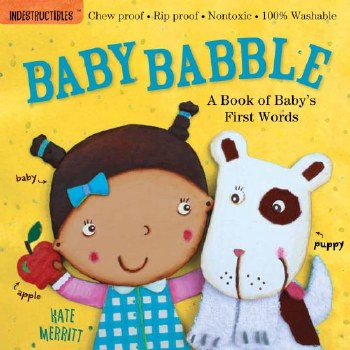 Indestructables: Baby Bable Book - Workman Publishing