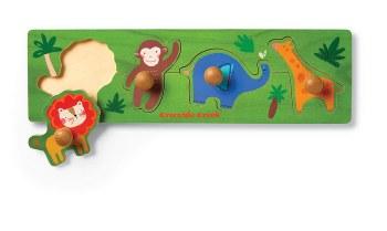 Knob Puzzle Jungle