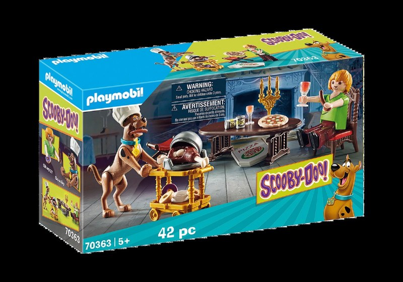 Playmobil 70363 Scooby Doo Dinner with Scooby /& Shaggy Playset new boxed