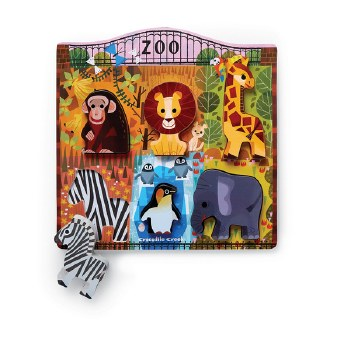 Let's Play Puzzle At The Zoo