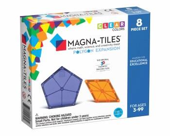 Magna-Tiles Extra Pentagons & Diamonds 8 Piece Set