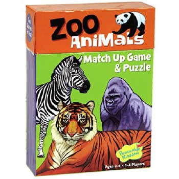Match Up Zoo Animals