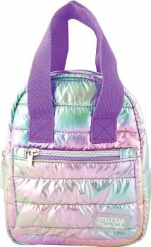 Mini Backpack Puffer-Pastel