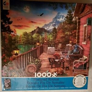 Mountain View Puzzle 1000 Pc