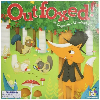 Outfoxed! Board Game - Gamewright
