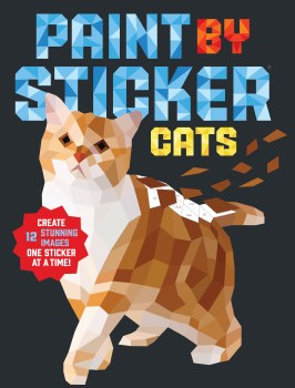 Paint By Sticker: Cats