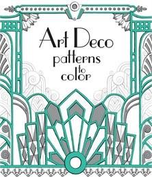 Patterns to Color Art Deco