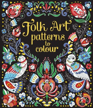 Patterns to Color Folk Art