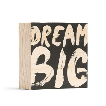 Dream Big Mini Plaque - Compendium