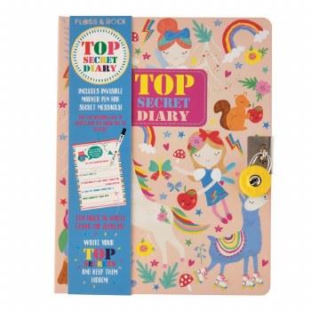 Rainbow Fairy Lockable Diary