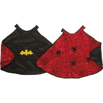 Reversible Spider/Batman Cape - Great Pretenders