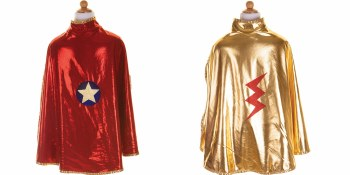 Reversible Wonder Cape - Gold/Red - Creative Education of Canada