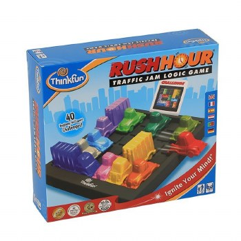 Rush Hour Traffic Jam Board Game - ThinkFun