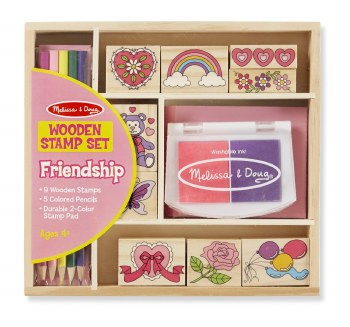 Friendship Stamp Set - Melissa & Doug