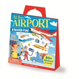 Sticker Tote-At The Airport