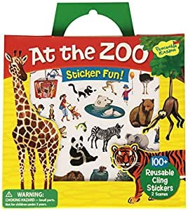 Sticker Tote-At The Zoo