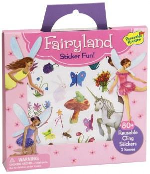 Sticker Fun! Fairyland Reusable Sticker Tote - Peaceable Kingdom