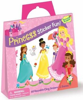 Sticker Fun! Princess Sticker Tote - Peaceable Kingdom