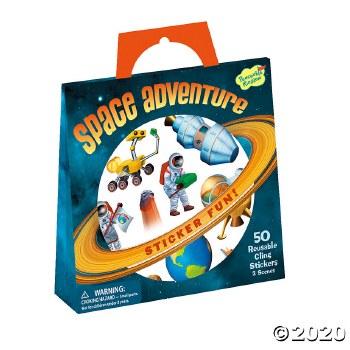 Sticker Tote-Space Adventure