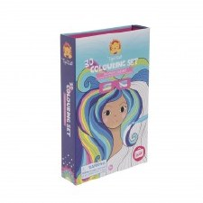3D Coloring Set Rainbow Dreams