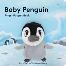 Baby Penguin Finger Puppet Bk