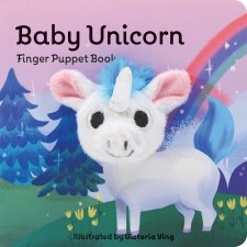 Baby Unicorn Finger Puppet Bk