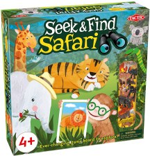 Seek & Find Safari Game