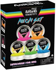 Crazy Aaron's Thinking Putty Neon Gift Set