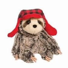 Blitzen Sloth w/Bomber Hat