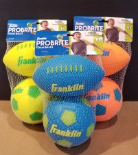Foam Football/Soccer Balls