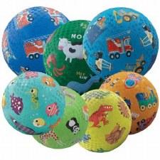 "Crocodile Creek Patterned 7"" Playground Ball"