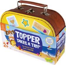 Peaceable Kingdom Topper Takes A Trip Game