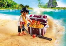 Pirate w/Treasure Chest