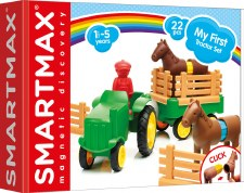 Horses, fences, tractor - just what the farmer needs! For ages 1-5 yrs, from Smart Toys & Games.