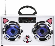 Mini Boom Box Kawaii Cat