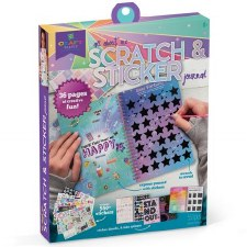 Scratch & Sticker Journal