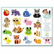Baby Animal Toddler Stickers - Djeco