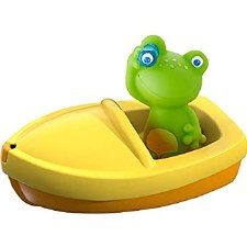 Bath Boat Frog