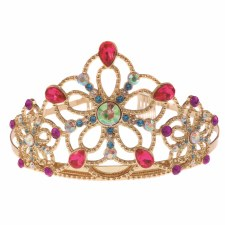 Bejeweled Tiara Gold/Gems
