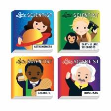 Board Book Set Little Scientis