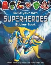 Build Own Superheros Sticker