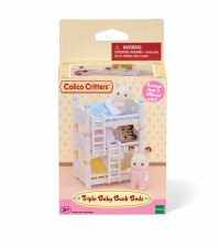 Calico-Triple Baby Bunk Beds