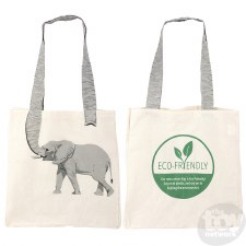 Canvas ECO Bag-Elephant