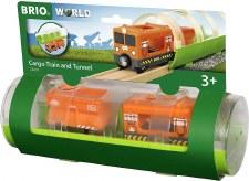 Cargo Train & Tunnel